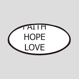 3-faith,hope Patch