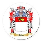 Molan Round Car Magnet