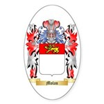 Molan Sticker (Oval 50 pk)
