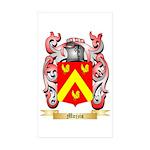 Mojzis Sticker (Rectangle 50 pk)