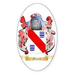 Mojica Sticker (Oval 50 pk)