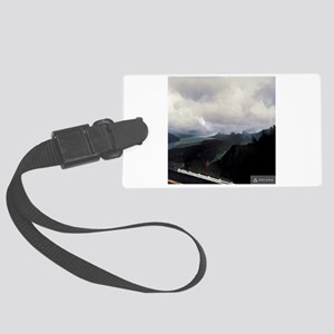 Columbia River Gorge Vista Point Large Luggage Tag