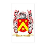 Moizo Sticker (Rectangle 50 pk)