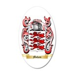Mohan 35x21 Oval Wall Decal