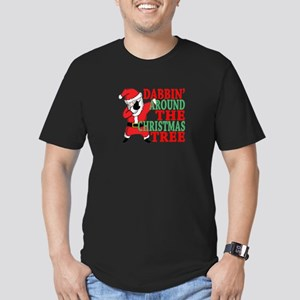 DABBING AROUND THE CHRISTMAS TREE SANTA . T-Shirt