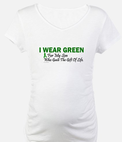 Green For Son Organ Donor Donation Shirt