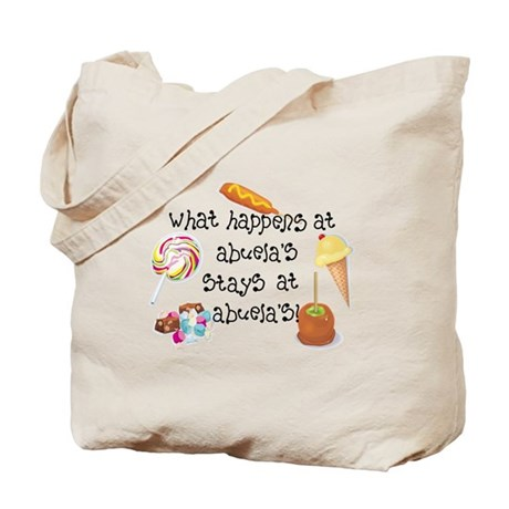 What Happens at Abuela's... Tote Bag