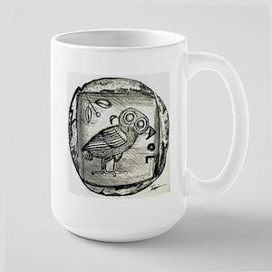 Owl of Athena Mugs
