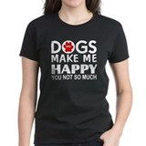 Dog lover Women's Dark T-Shirt