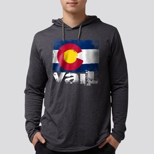 Vail Grunge Flag Long Sleeve T-Shirt