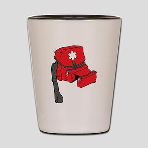 First Aid Kit Shot Glass