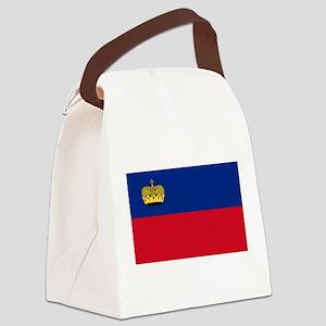 Liechtenstein Flag Canvas Lunch Bag
