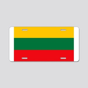 Lithuania Flag Aluminum License Plate