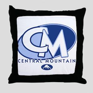 Central Mountain Wrestling 8 Throw Pillow