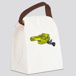 Fire Hose Canvas Lunch Bag