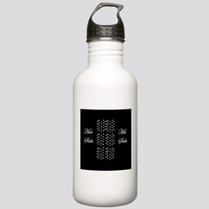 Her Side, His SIde, Pe Stainless Water Bottle 1.0L