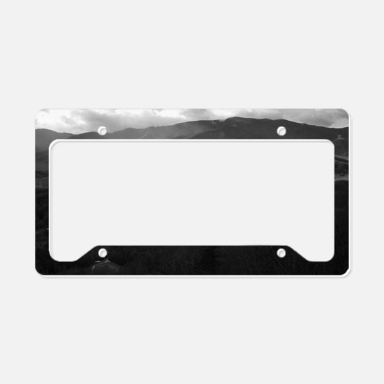 Cute Smoky mountain License Plate Holder