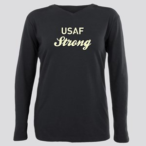 AIR FORCE STRONG Plus Size Long Sleeve Tee