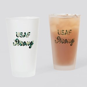 AIR FORCE STRONG Drinking Glass