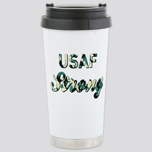 AIR FORCE STRONG Stainless Steel Travel Mug