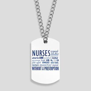 nurses Dog Tags