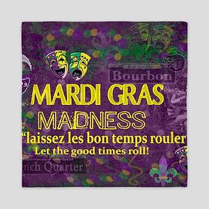 Mardi Gras Madness Bourbon French Quar Queen Duvet