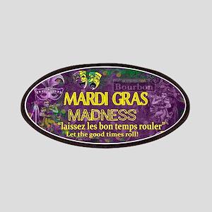 Mardi Gras Madness Bourbon French Quarter NO Patch