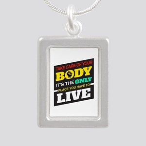 Take Care Of Your Body Necklaces