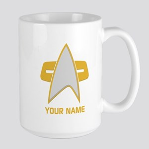 Star Trek: Voyager Emblem Large Mug