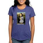 card-Mona-Akita2 Womens Tri-blend T-Shirt