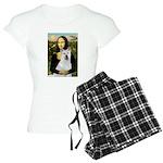card-Mona-Akita2 Women's Light Pajamas