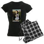 card-Mona-Akita2 Women's Dark Pajamas