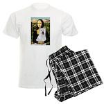 card-Mona-Akita2 Men's Light Pajamas