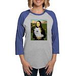 8x10-Mona-AmEskimoSpitz Womens Baseball Tee