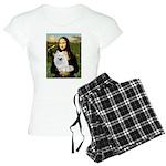 8x10-Mona-AmEskimoSpitz Women's Light Pajamas