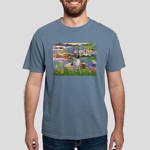 5.5x7.5-Lilies2-AHT2 Mens Comfort Colors Shirt