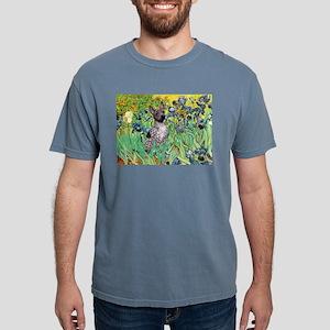 5.5x7.5-Irises-AHT2 Mens Comfort Colors Shirt