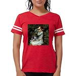 TILE-Oph2-ACDpup Womens Football Shirt