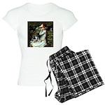 TILE-Oph2-ACDpup Women's Light Pajamas
