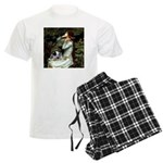 TILE-Oph2-ACDpup Men's Light Pajamas