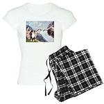 5.5x7.5-Creation-Aussie2.png Women's Light Pajamas