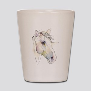 White Horse Eyes Shot Glass