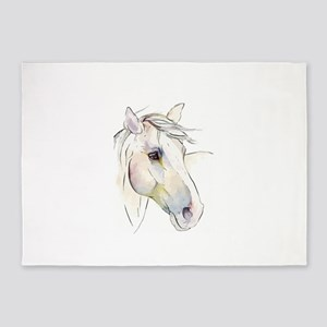 White Horse Eyes 5'x7'Area Rug
