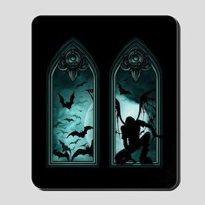 Gothic Bat Windows 2 Mousepad