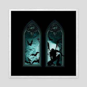 Gothic Bat Windows 2 Queen Duvet