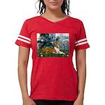 TR-Lilies1-Basenji-liedown.PNG Womens Football Shi