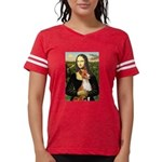 Mona Lisa-Basenji #1 Womens Football Shirt