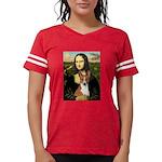Mona Lisa - Basenji Womens Football Shirt