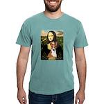 Mona Lisa - Basenji Mens Comfort Colors Shirt