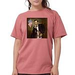 TILE-Lincoln-Basset2 Womens Comfort Colors Shi